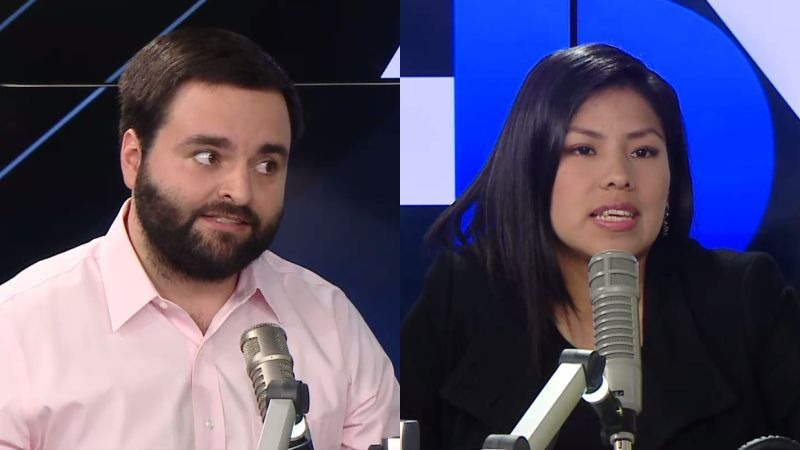 Alberto de Belaunde e Indira Huilca estuvieron en Ampliación de Noticias.