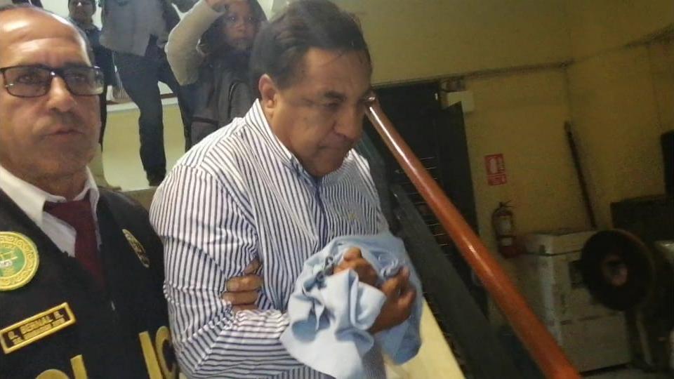 Willy Serrato, exalcalde de Olmos fue trasladado al penal de Chiclayo