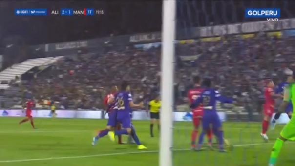 Así fue el gol de Osnar Noronha.