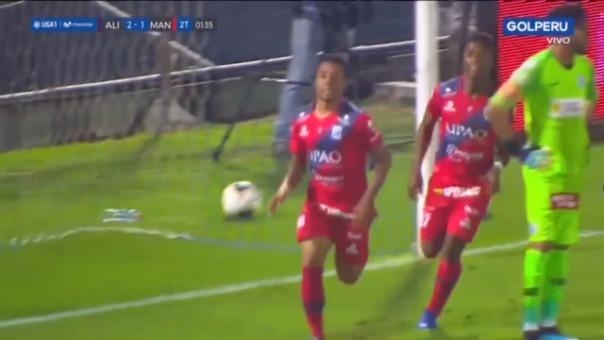 Así fue el golazo de Joao Villamarín.