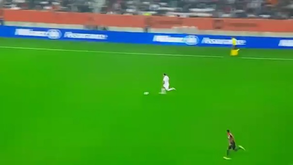 Ángel Di María abrió el marcador a favor de PSG ante Niza por la Ligue 1