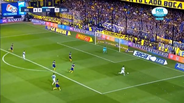 Así fue el gol de Matías Zaracho contra Boca Juniors.