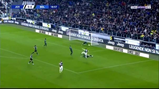 Así fue el gol de Cristiano Ronaldo ante Bolonia.