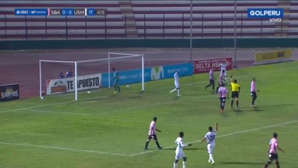Así fue el gol que anularon a Jairo Concha.