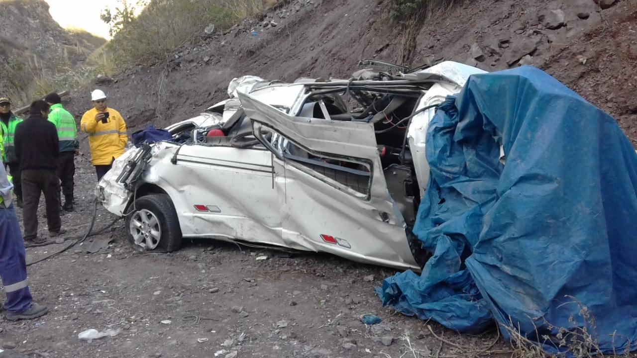 Accidente en Carretera Central