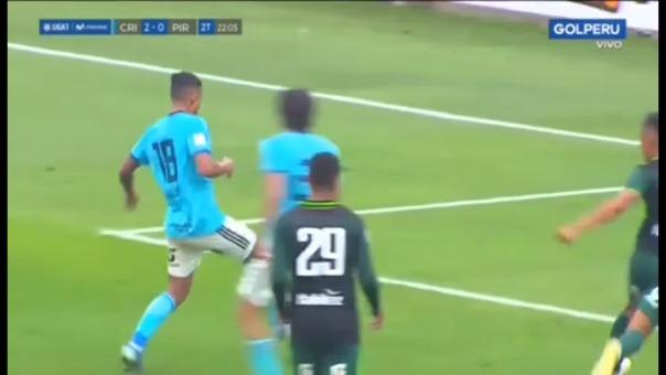 Así fue el gol marcado por Christofer Gonzales ante Pirata FC.