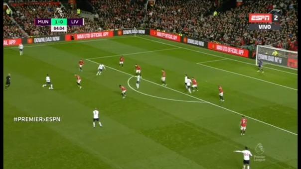 Adam Lallana le dio el empate a Liverpool ante Manchester United