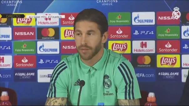 El capitán de Real Madrid habló en conferencia de prensa.