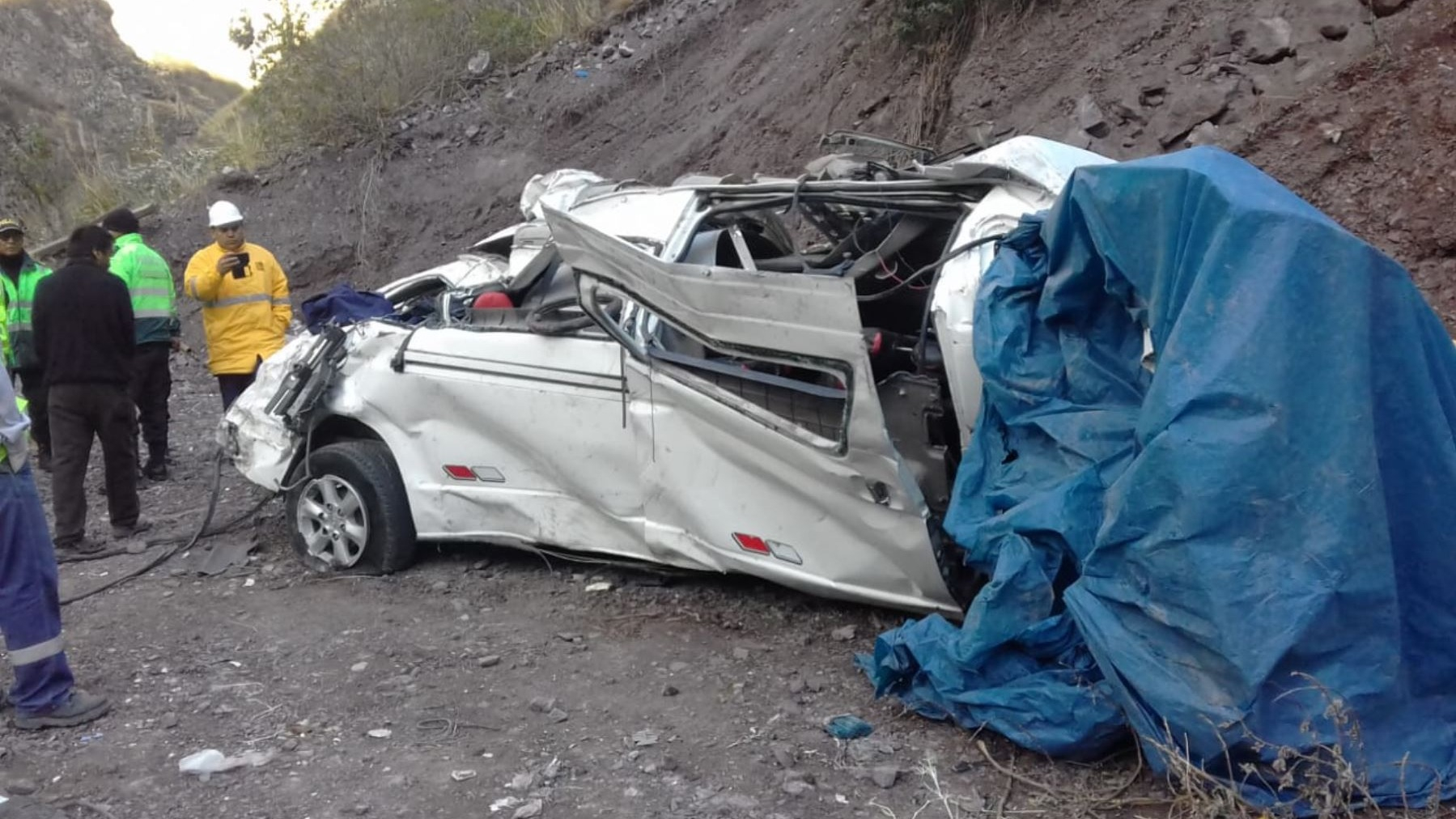 El Instituto Nacional de Salud del Niño brinda detalles de los escolares heridos en accidente de Carretera Central.