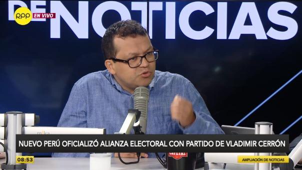 """""""Hemos tomado esa decisión de manera democrática en nuestra organización política"""