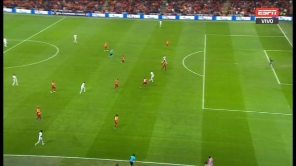 Eden Hazard pudo aumentar el marcador a favor del Real Madrid.