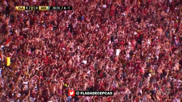 Así fue el gol de Rodrigo Caio.