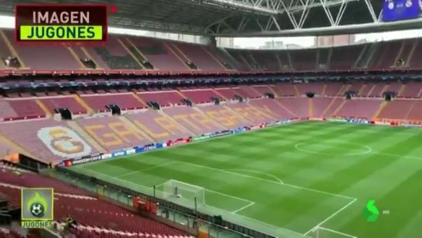 El estadio de Galatasaray.