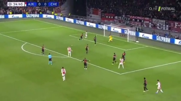 Así fue el gol anulado de Quincy Promes frente al Chelsea.