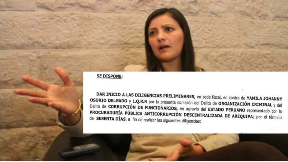 Yamila Osorio afronta una investigación tras denuncia de abogado Arturo Salas.