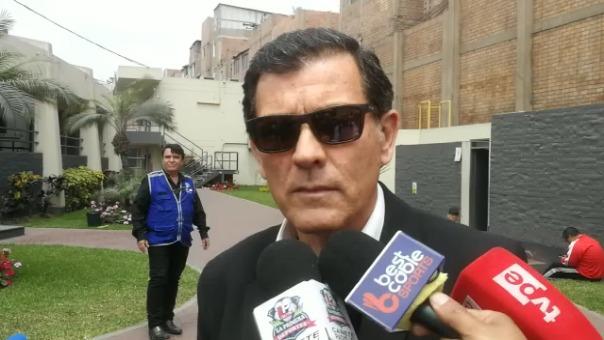 Gustavo Zevallos, gerente deportivo de Alianza Lima.