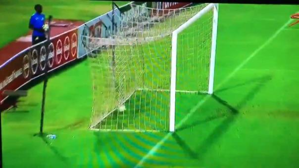 Así fue el gol de Mauricio Affonso que le dio la victoria al Mamelodi Sundowns.