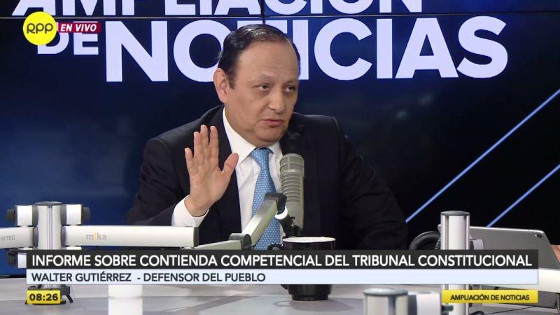 Walter Gutiérrez estuvo esta mañana en Ampliación de Noticias.