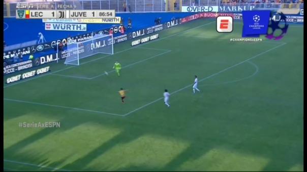 Gianluca Lapadula anota ante Juventus, pero...