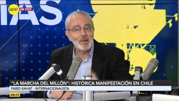 La marcha del millón, histórica manifestación en Chile