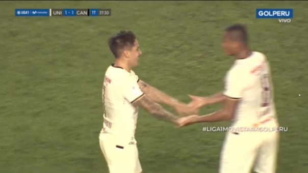 Este fue el gol de Alejandro Hohberg para poner el empate contra Cantolao.