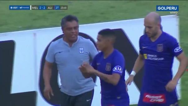 Así fue el gol de Kevin Quevedo ante Melgar.