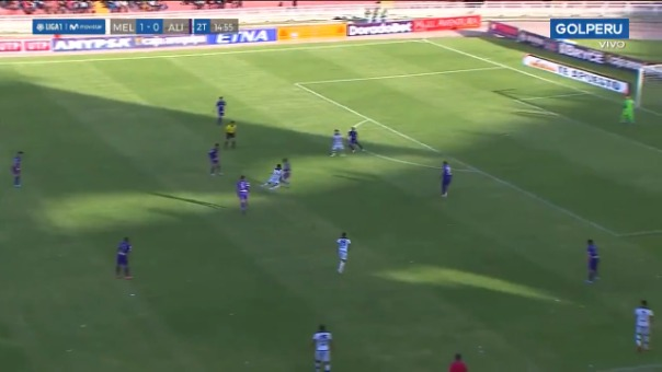Bernardo Cuesta anotó el 2-0 a favor de Melgar ante Alianza Lima por el Torneo Clausura