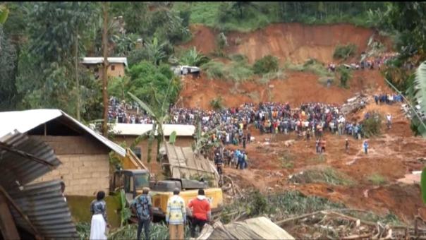 Alud en Camerún