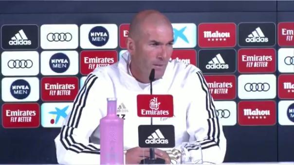 Zinedine Zidane habla de Bale.