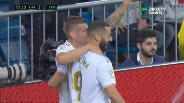 Así fue el gol de Toni Kroos.