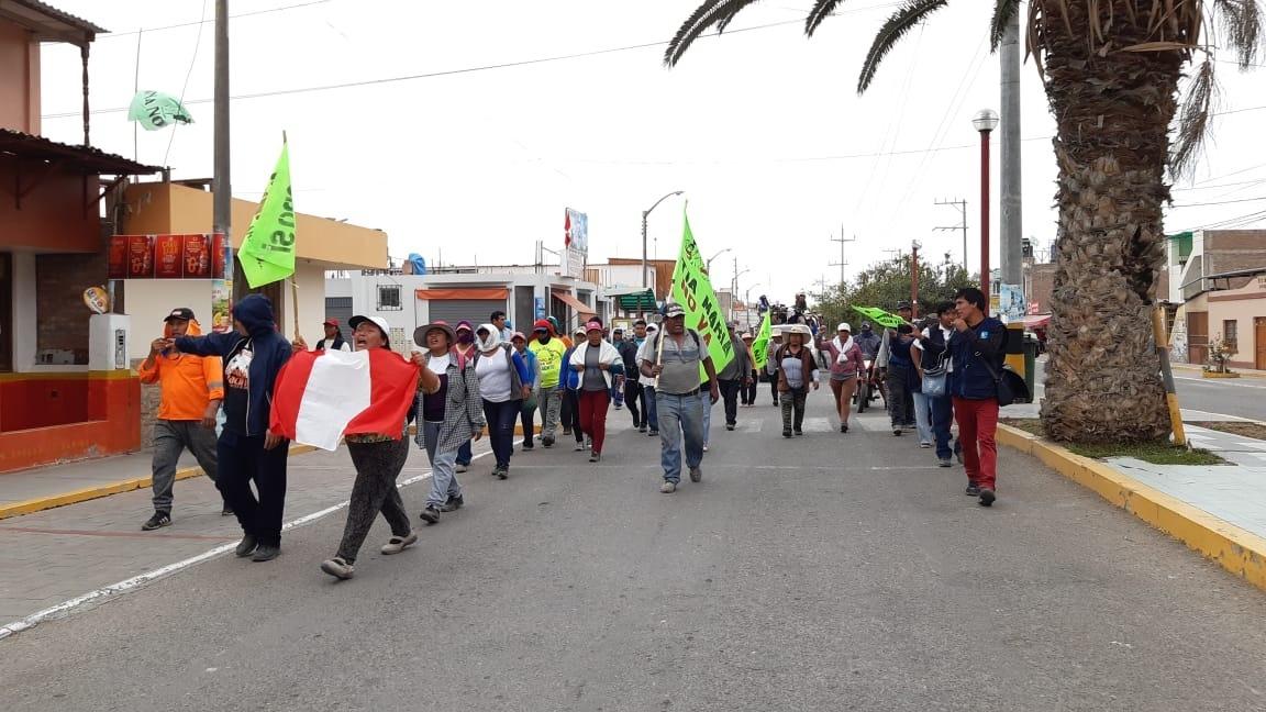 Protestas en Arequipa por el proyecto minero Tía María.