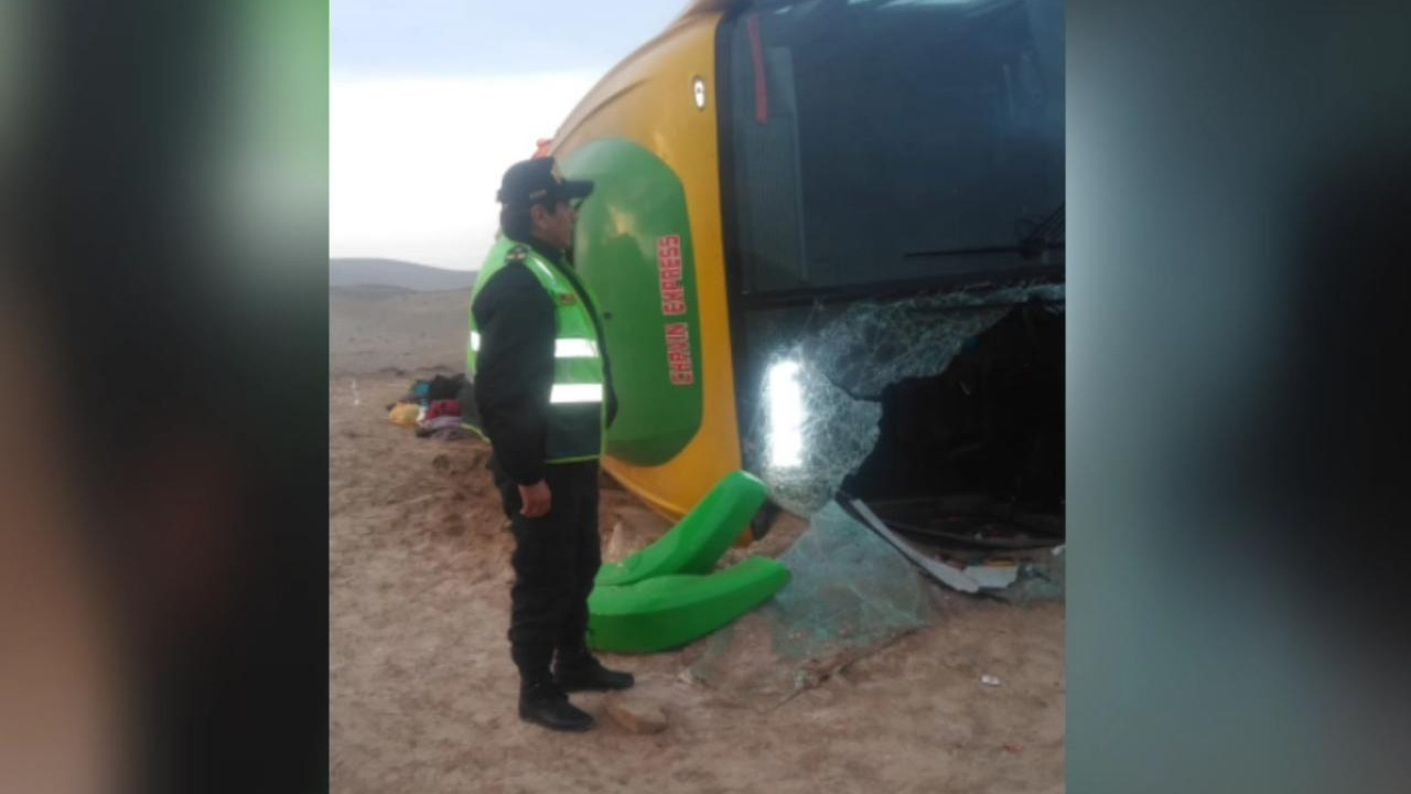 Heridos del accidente en la carretera Arequipa - Ayacucho fueron atendidos en Chala.