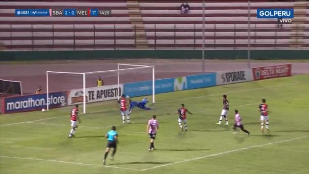 Así fue el gol de Reimond Manco ante Melgar.