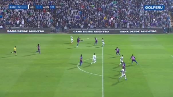 Así fue la gran llegada de Alianza Lima.