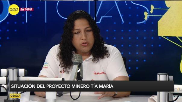 Fabiola Muñoz en el programa Enfoque