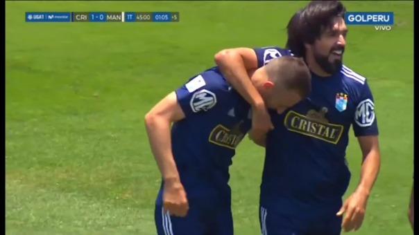 Así fue el gol de Horacio Calcaterra.
