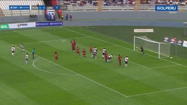 Así fue el gol de Jeremías Bogado ante Universitario de Deportes.