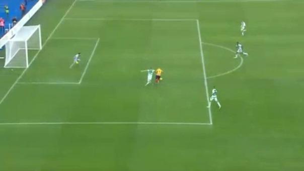 Así fue el gol de Gianluca Lapadula frente al Sassuolo por la Serie A.