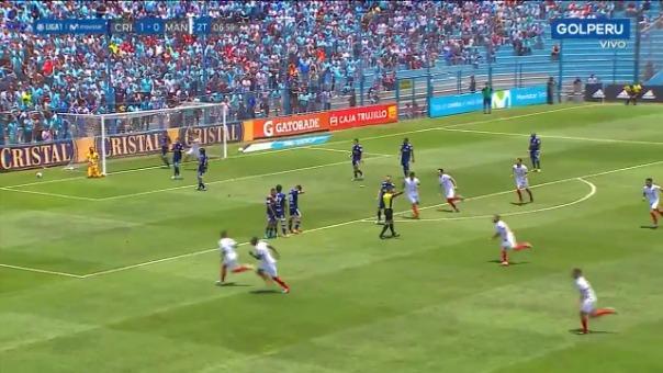 Así fue el gol de Ricardo Lagos contra Sporting Cristal.