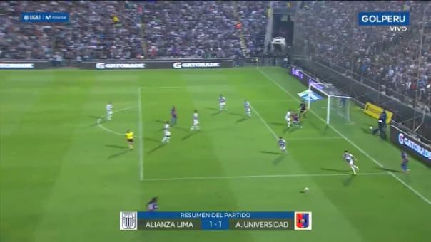 Alianza Lima empató 1-1 con Alianza Universidad.