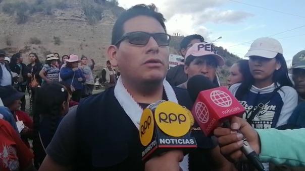 El fiscal confirmó el rescate de los cuerpos en el río Mantaro.