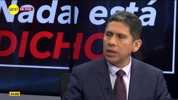 EL gerente de la ACTU, Ángel Mendoza anunció la suspendión del paro de los corredores complementarios en ´Nada está Dicho' de RPP.