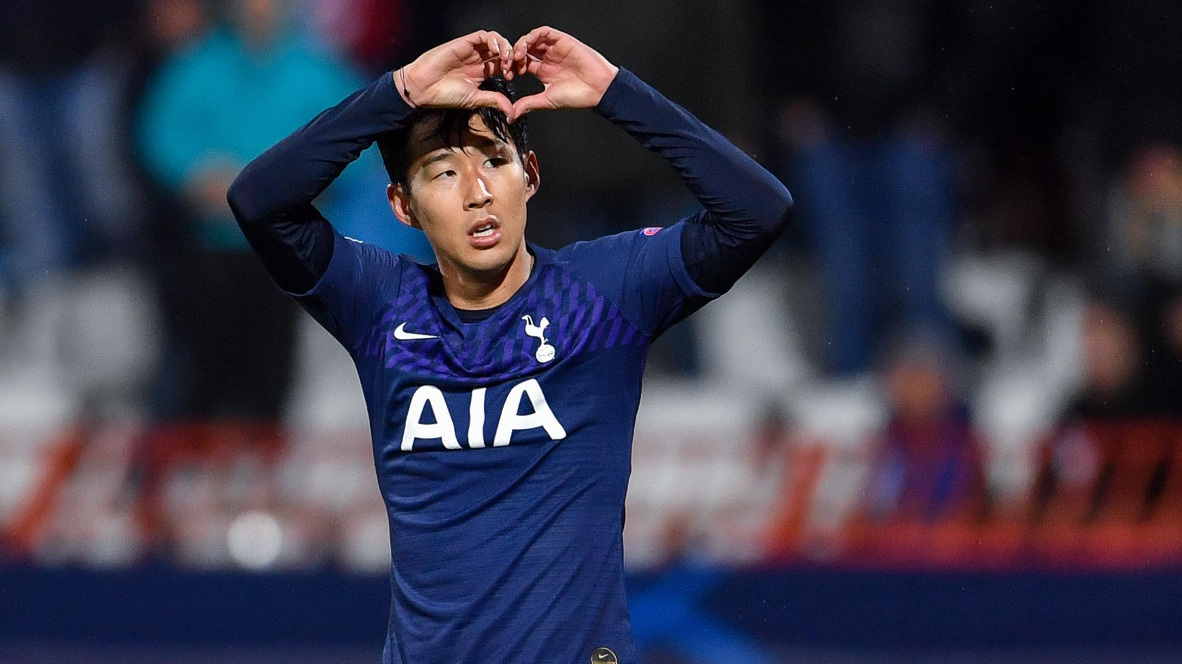 Así se disculpó Son Heung-Min por la falta que le cometió a André Gomes.