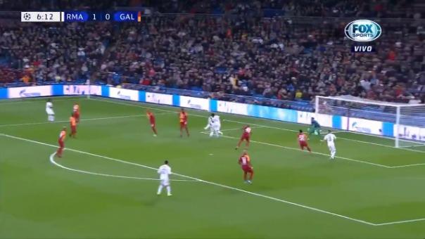 Así fue el segundo gol de Rodrygo.