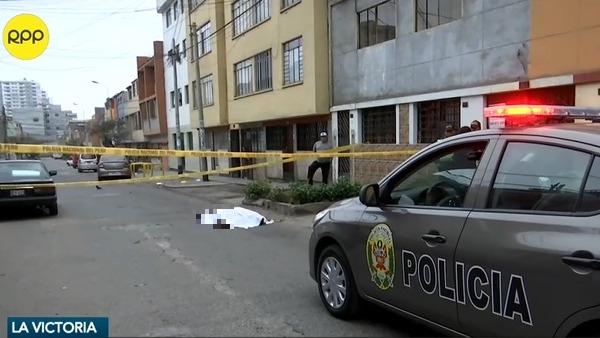 Cadáver en La Victoria