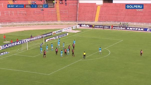 Bernardo Cuesta le dio el empate a Melgar ante Sporting Cristal por el Torneo Clausura
