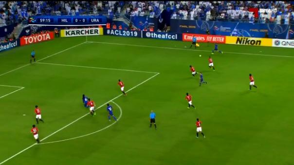 Así fue el gol de André Carrillo ante los Urawa Reds.