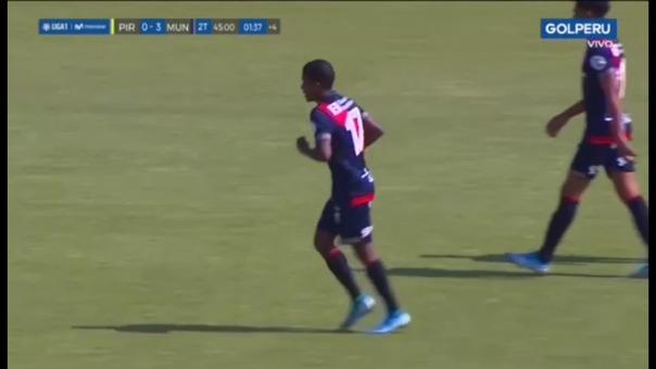 Así fue el gol de Daniel Cabrera ante Pirata FC.