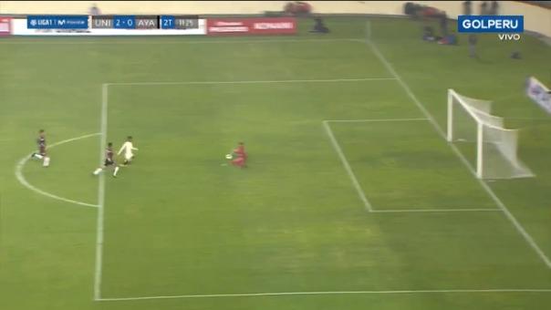 Así fue el gol de Anthony Osorio contra Ayacucho FC.