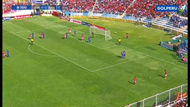 Breno Naranjo marcó a favor de Cienciano ante Santos por la última fecha de la Liga 2